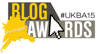 UK Blog Awards 2015 - Shortlisted Logo - Small