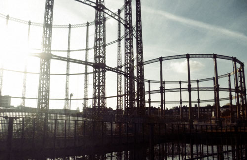 Regent's Canal gas installations