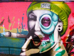 The Writings on the Wall. Femme Fierce: When Female Graffiti Writers Took over Leake Street Tunnel and Painted it Pink