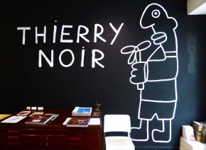 Retrospective of Thierry Noir, Pioneer of the Berlin Wall Illegal Painting