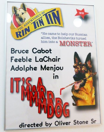 Rin Tin Tin film poster