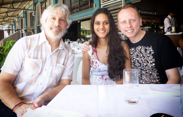 Lunch with Lee Ranaldo and Scanner