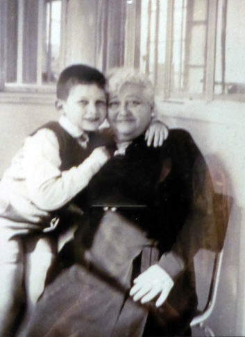 Jean Paul Gaultier and his grandmother