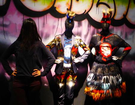 Punk Dutch Girl in London