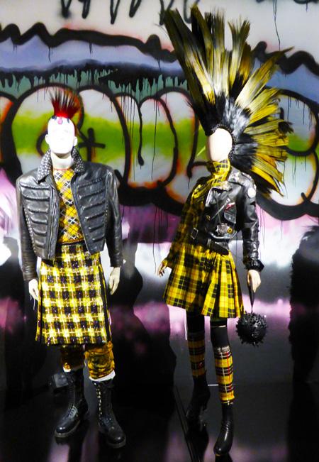punk mannequins