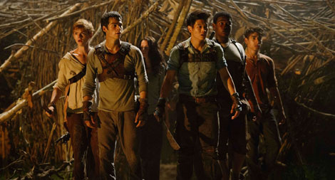 Minho, Thomas and 'Gladers'