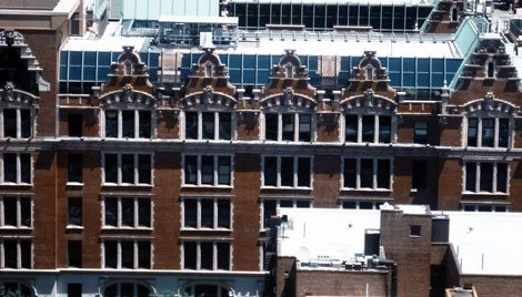 Dutch-rooftops