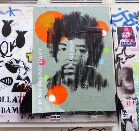 Jimi Hendrix by Mr Fahrenheit