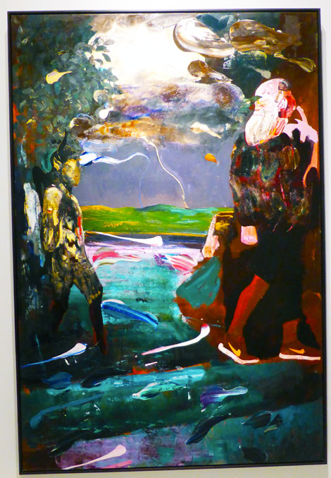 CAC_Adrian-Ghenie-Darwin-and-the-Satyr-(2014)
