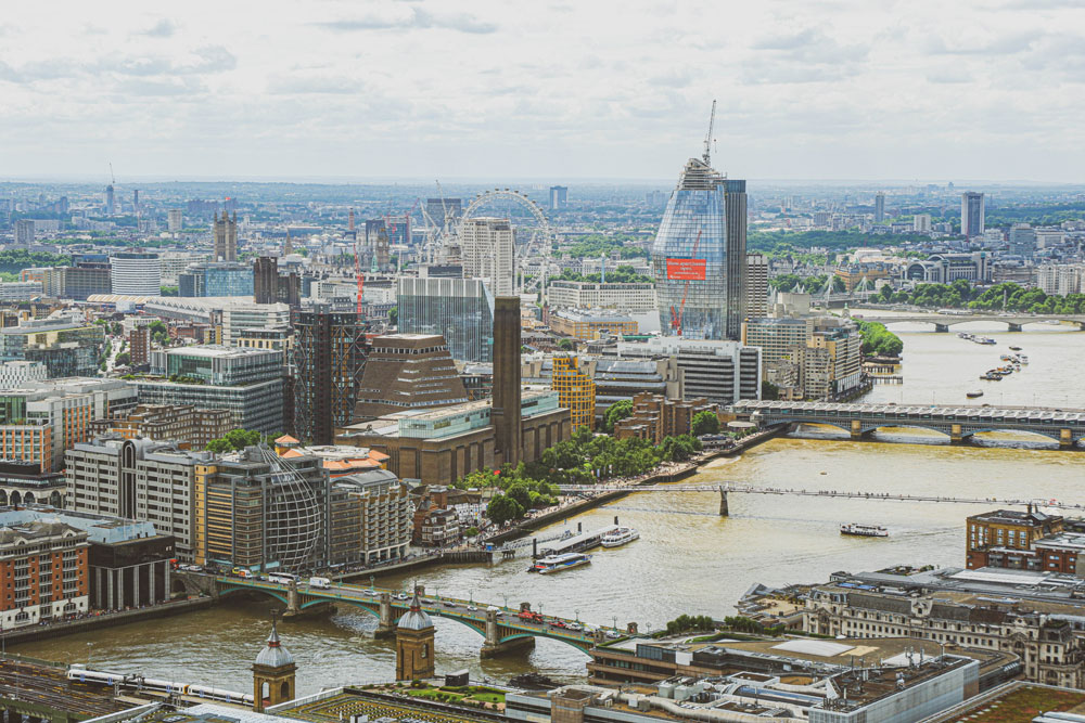 free panoramic views of London