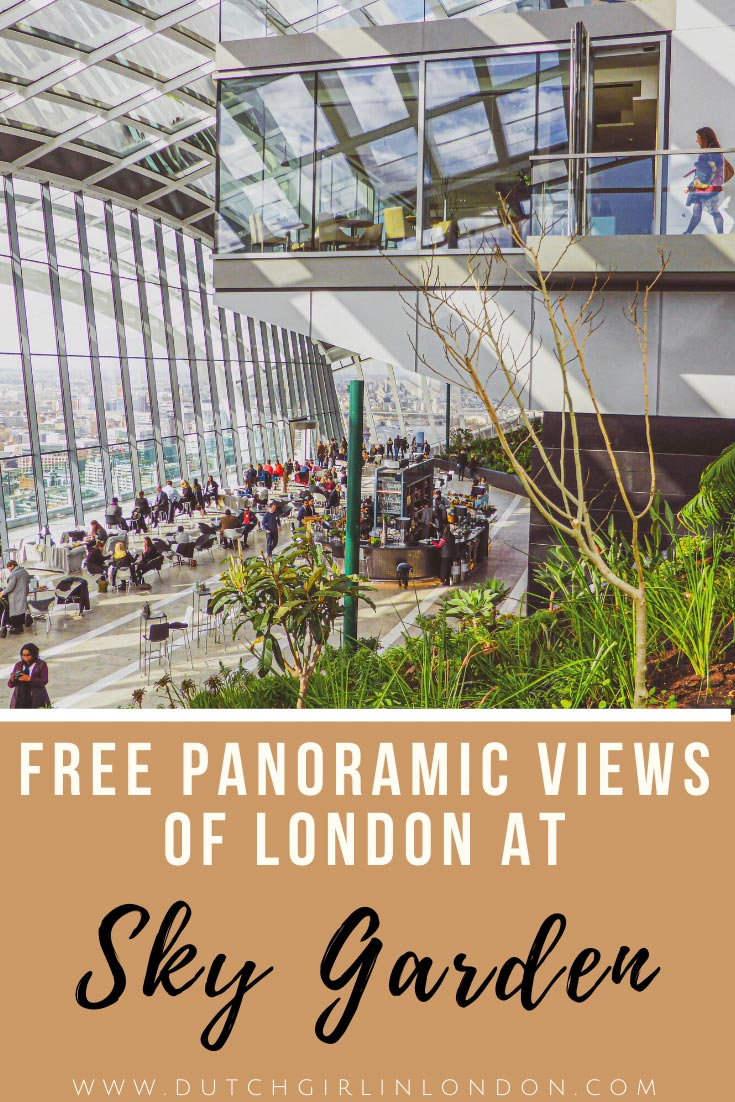 Save this blog about Sky Garden London on Pinterest