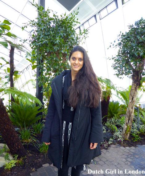 Zarina Dutch Girl in London Walkie Talkie