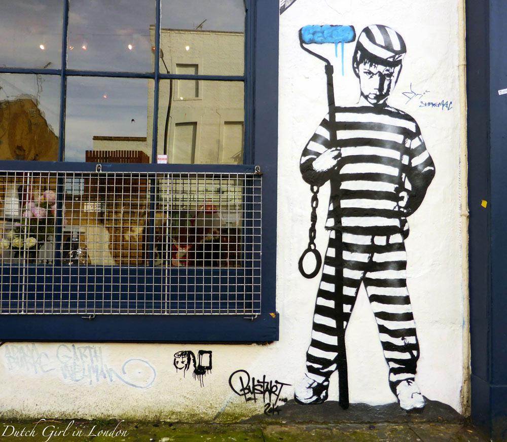 work by street artist Art of Bust