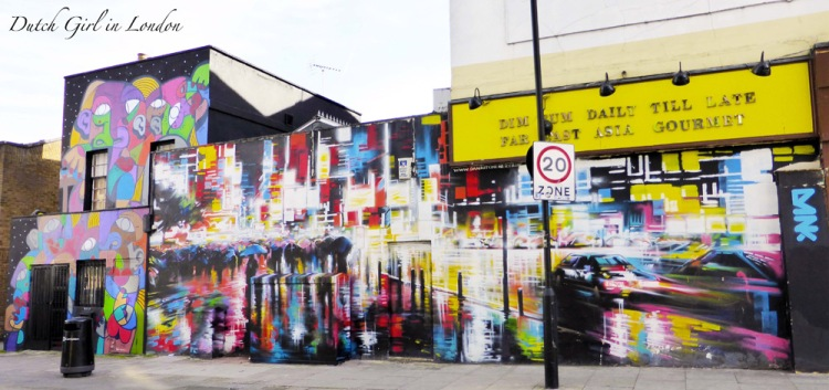 Dan Kitchener artwork in Camden