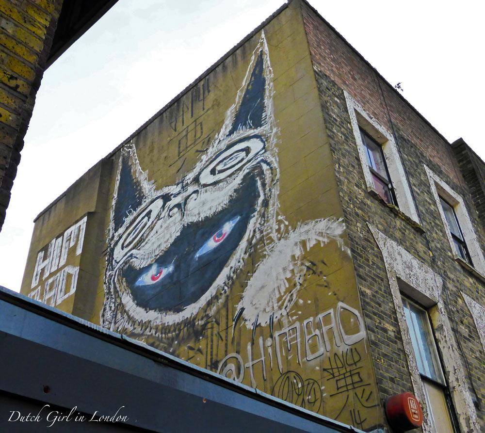 Himbad graffiti in Camden