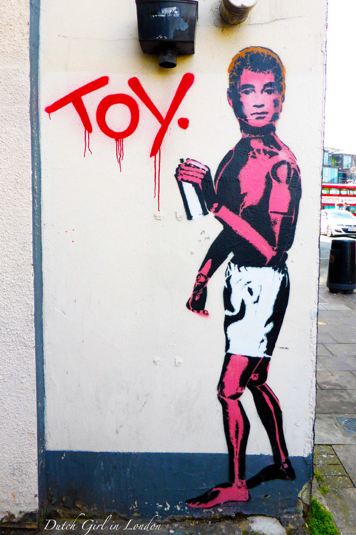Toy graffiti Camden