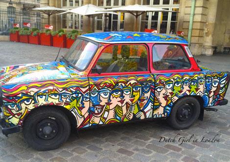 Art Liberte Paris Gare de l'Est Christophe Bouchet Trabant