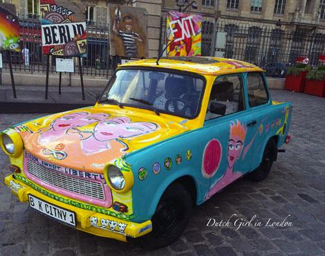 Art Liberte Paris Gare de l'Est Kiddy Citny Trabant