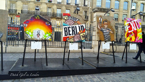 art libert berlin wall street art exhibition at paris. Black Bedroom Furniture Sets. Home Design Ideas