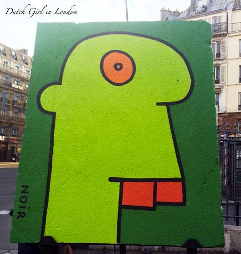 Art Liberte Paris Gare de l'Est Thierry Noir