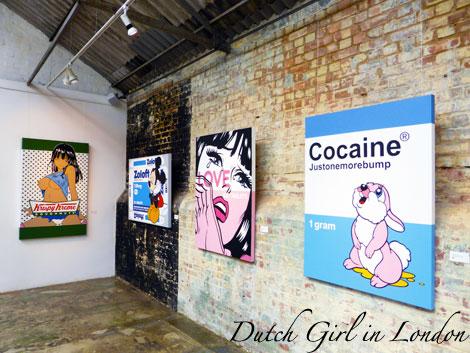 Krispy Kreme Mickey Mouse on Zoloft Love: 100 Tablets Cocaine: justonemorebump Ben Frost StolenSpace Gallery London