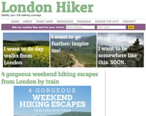 london hiker blog