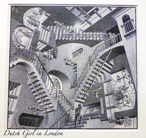 M.C.-Escher-Relativiteit-Relativity