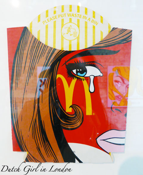 Ben Frost Wasted Youth McDonald's StolenSpace Gallery London