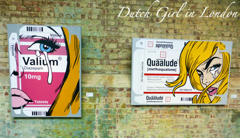 Valium Lover Quaalude Lover Ben Frost StolenSpace Gallery London