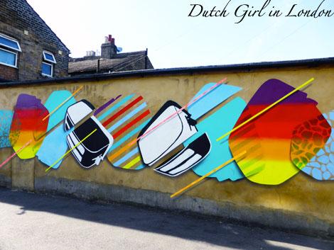 Toasters walthamstow E17 street art wood street walls