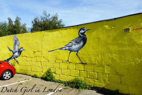 ATM walthamstow E17 street art wood street walls