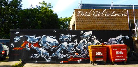 Bonsai walthamstow E17 street art wood street walls