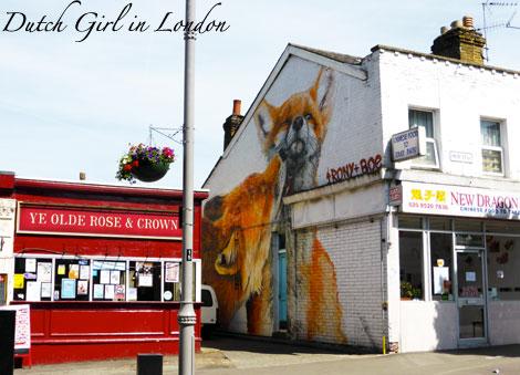 irony boe walthamstow E17 street art wood street walls