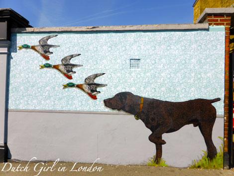 Teddy Baden walthamstow E17 street art wood street walls