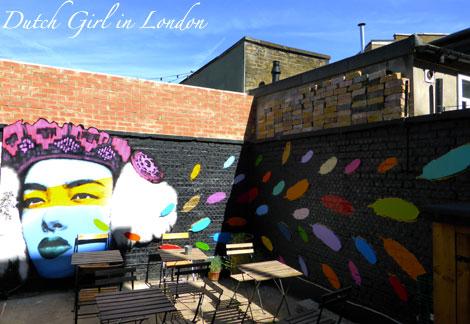 Static art cafe walthamstow E17 street art wood street walls