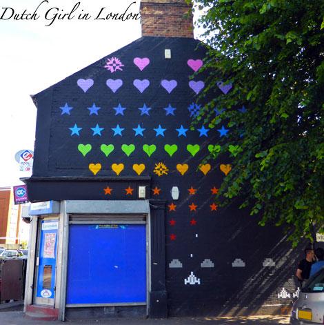 Static walthamstow E17 street art wood street walls