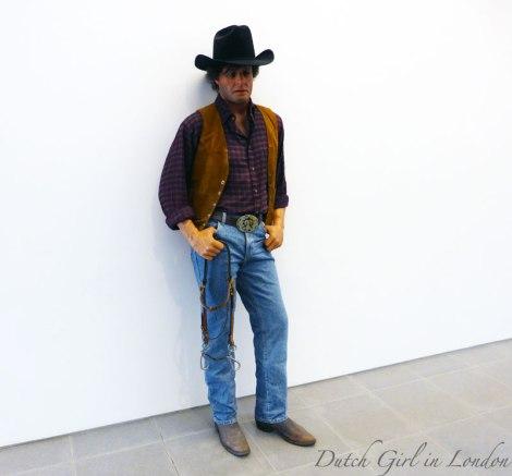 Cowboy Duane Hanson Serpentine Gallery London
