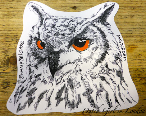 drawing-owl BunnyBrigade