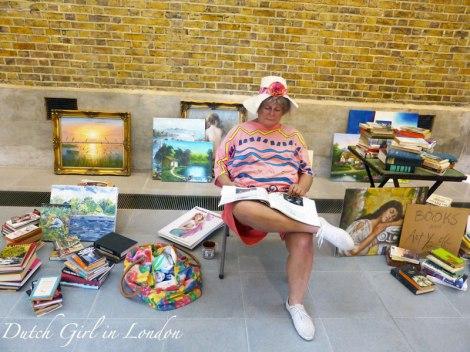 Flea Market Lady Duane Hanson Serpentine Gallery London
