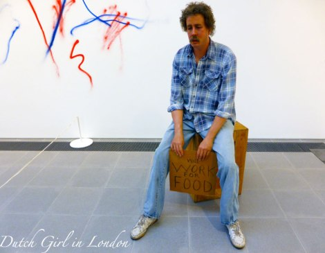 Homeless Person Duane Hanson Serpentine Gallery London