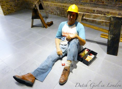Lunchbreak Duane Hanson Serpentine Gallery London