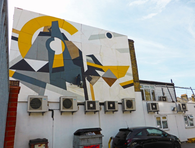 Mark McClure Walthamstow art installation