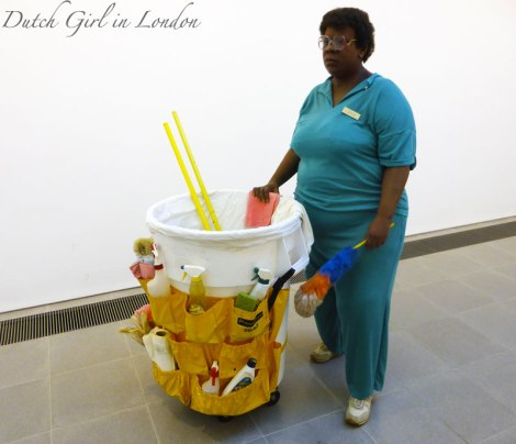 Queenie II Duane Hanson Serpentine Gallery London