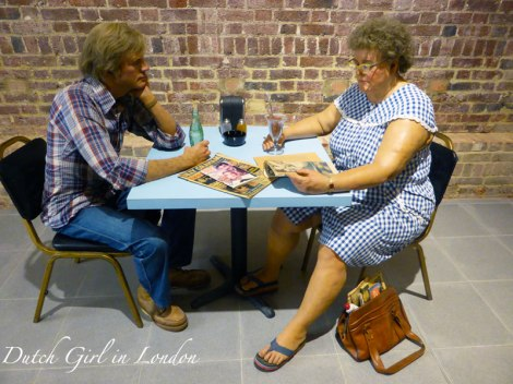 Self-Portrait with Model Duane Hanson Serpentine Gallery London