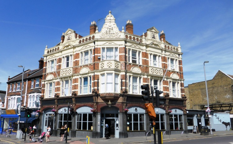 The Bell pub in Walthamstow
