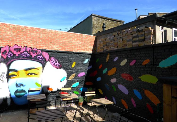 Wynwood Art Cafe in Walthamstow