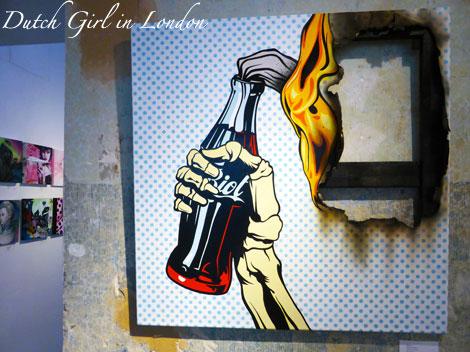 Burn It Clean by D*Face