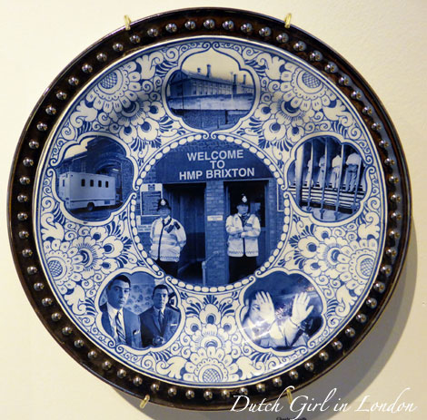 Penitentiary Plate (HMP Brixton) by Charles Krafft