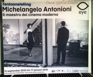 Michelangelo Antonioni EYE exhibition Italian cinema