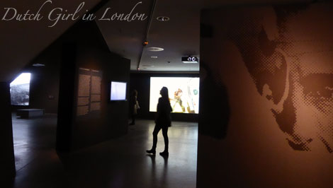 Dutch Girl in the Michelangelo Antonioni exhibition